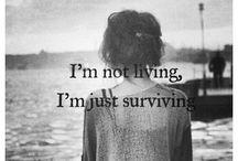 Depression / Depressing yet relatable quotes