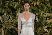 Romantic Wedding Gowns / Romantic wedding gowns which include delicate lace, flowing fabrics and pretty details.