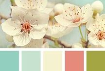 Colour - Spring fresh / Colours I like with a fresh/ Spring vibe