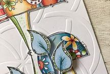 PA - JoFY stamps / Jo Firth-Young has a wonderful design style that resonates throughout her gorgeous floral stamp collection.