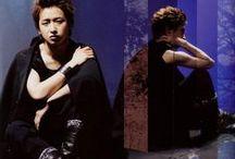 大野智 (Ohno Satoshi) / Edited photos (scans) with Satoshi :))