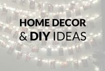 Home Decor DIY & Design Ideas / Many fresh and inspiring Home Decor DIY ideas to embellish your house. So, get some inspiration, share or just have a look and relax :)