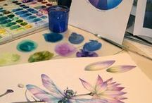 2016:14 Colour Mixing / From July 24 to July 31st 2016, we are checking out Colour mixing on the PaperArtsy Blog as our focus topic. Come and join us and use up lots og your scraps along the way!  http://blog.paperartsy.co.uk/2016/07/2016-14-colour-mixing-challenge.html