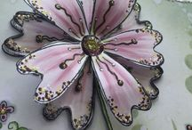 PA - Kay Carley / New 2016 designer for PaperArtsy is Kay Carley, renowned tutor, demonstrator, author and designer! Kay has an elegant floral style with gorgeous swirly/glittery finishing touches!