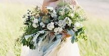 Oversized Bouquets and Grandiose Floral Decor / Inspirational board for one of my favorite 2017 Aspen Wedding Trends: the Oversized Bouquet.  These bouquets are large and full.  Their shapes are irregular and interesting.  They are stunning masterpieces that can be seen in photos taken from far away, and give an Aspen bride an ethereal look.