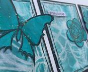 2017:9 Aqua / Over on the PaperArtsy Blog we are exploring the colour Aqua, as inspired by Stampington's True Colours Publication. Come see plenty of ideas on the PaperArtsy Blog with this fresh and summery colour.  Links to PaperArtsy Blog Topic 9: July 9th -  July 23, 2017.  http://blog.paperartsy.co.uk/2017/07/2017-topic-9-aqua-introduction-and.html