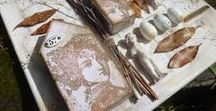2018:9 Vintage Neutrals / Soft tones of Vintage days and a bygone era - these colours are delicate and soothing. What can you do in a mixed media world with this palette? This topic was explored on the PaperArtsy Blog from May 13-27 2018 See more here on the PaperArtsy Blog https://blog.paperartsy.co.uk/2018/05/2018-topic-9-vintage-neutrals-topic.html