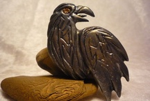 Touchstone Creations / Pieces hand-sculpted from polymer clay by Touchstone Creations.