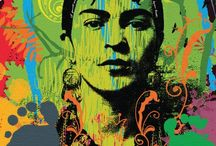 Blog Indicativo - Frida kahlo / My favorite painter, who inspires me through the colors