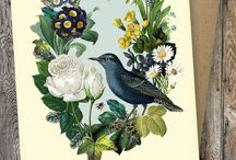 Wychwoodcuckoo designs / My greetings cards, prints and design work