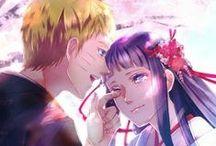 Naruhina / Hinata Hyuga ♥ Naruto Uzumaki ♥ I nareszcie cała rodzinka w komplecie: zatem... Hinata, Naruto, Boruto i Himawari Uzumaki :)