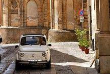 Fiats & Vespas / Fiat & Vespa - Vintage Italian Classics!