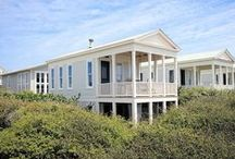 """At Last! - Seaside, FL / 1BR, 1.5 BA Formally known as the 'Honeymoon Cottage', """"At Last!"""" is one of the iconic beach houses that flank the coast of Seaside, FL, you won't get much closer to the beach than when you stay at this beautifully updated one-bedroom cottage!"""