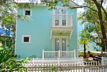 Celebration - Seaside, FL / 1BR, 1BA Furnished with adorable treasures, this cottage is conveniently located across the street from the beach.