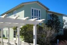 Happy Ours - Seaside, FL /  3BR, 3BA Just steps from town center and a stones throw to the beach, Happy Ours is sure to delight with its unique architectural elements and elegant amenities.
