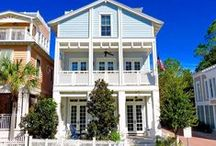 Maison d' Ya Ya - Seaside, FL / 4BR, 4.5BA A sprawling, Maison d' YaYa greets you with an inviting front porch and balcony that run the width of the house. The cottage is located in the newer section of Seaside just steps from the fitness center, playground, and 2 of the 3 outdoor pools.