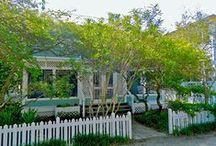 """Reve de Mer - Seaside, FL / 4BR, 2.5BA """"Seas the Moment"""" is a vacationer's dream home, conveniently located just steps away from the beach, fitness center, and east side pool. You have a small park right across the street with a picnic table, lounge chairs and shade from the Florida sun."""