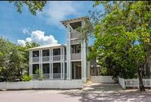 """Taste & Sea - Seaside, FL / Three master suites, what's """"sweeter"""" than that!?! Kick back and relax in this beautifully designed 4 bedroom/ 3.5 bath cottage located on Tupelo Street in the picturesque town of Seaside, Florida."""