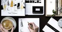 Office/Workspace / Home Decor Inspiration & Organisation Ideas For The Office/Workspace inc. Desks, Storage, Studios, Shelving, Accessories etc