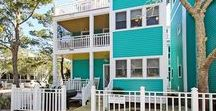 Leeward - Seaside, FL / 2BR 2BA Leeward is conveniently located near the West side Pool. Entrance is through a charming open front porch with rockers.