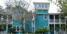 Seaward - Seaside, FL / 5BR, 4BA, 2Half BA Located near the Westside Pool, Seaward is Windward and Leeward combined, although the two cottages have separate entries.