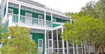 Lucky Charm - Seaside, FL / 2BR, 2BA On a quiet corner, across from The Chapel at Seaside, you will find Lucky Charm, an appealing home filled with bright light, fresh colors and 5 porches for you to take in the incredible views of the town and people.