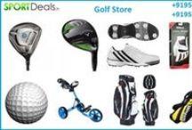 Sport Deals / Buy online golf equipment like golf shoes, driver, callaway, yonex, lining badminton rackets in India. http://sportdeals.in