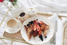 • Breakfast • / Don't you just love breakfast in bed?