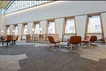Education projects / A collection of education projects using Bolon flooring