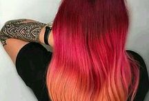Colorful Manes / Color inspiration for every hair type out there. Enjoy tips nohow to keep your color, great inspiration, and fun ways to style your colorful hair.