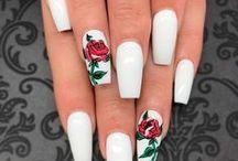 Nail Art / Nail art and nail inspiration. Where and how to get the best ends on your fingahs!