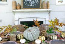 Cozy fall / L'art de table et des recettes réconfortantes pour passer un bel automne avec vos proches.