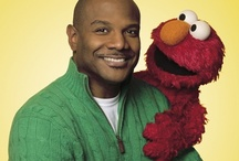 Elmo with his Creator ... Kevin Clash ;)
