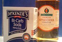 Bicarb and vinegar