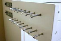 Great storage....Idées rangements