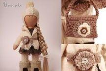Lady Doll / Интерьерные куклы ручной работы.Handmade.