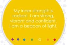 GAIA'S chakra affirmations / GAIA'S seven affirmations for the seven chakras