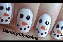 Vánoční nehty-christmas nails