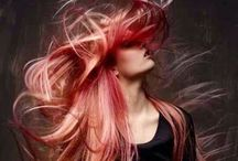Włosy / Inspirujące formy i kolory