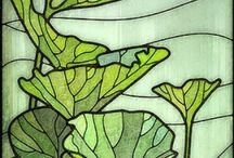 Art nouveau / Volutes et formes organiques