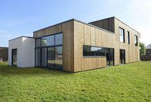 House construction wood / Maisons construction bois