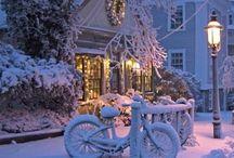 Gyönyörű téli tájak...