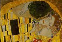 Gustav Klimt art work