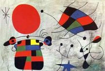 Joan Miro art work