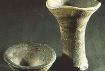 10th - 13th Century Lamps / Extant lamps from the 10-13th centuries in northern Europe