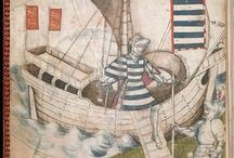 Medieval Boats & Currach