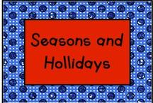Seasonal/Holiday Books / KinderLit books for around the year! / by KinderLit