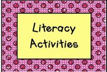 Literacy Activities / Here are lots of fun learning activities to do at literacy stations! / by KinderLit
