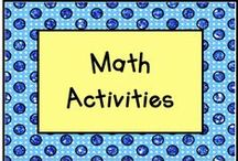 Math Station Activities / Use these math activities at stations and watch your children learn! / by KinderLit
