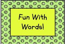 Fun With Words / Fun activities for high frequency words! / by KinderLit